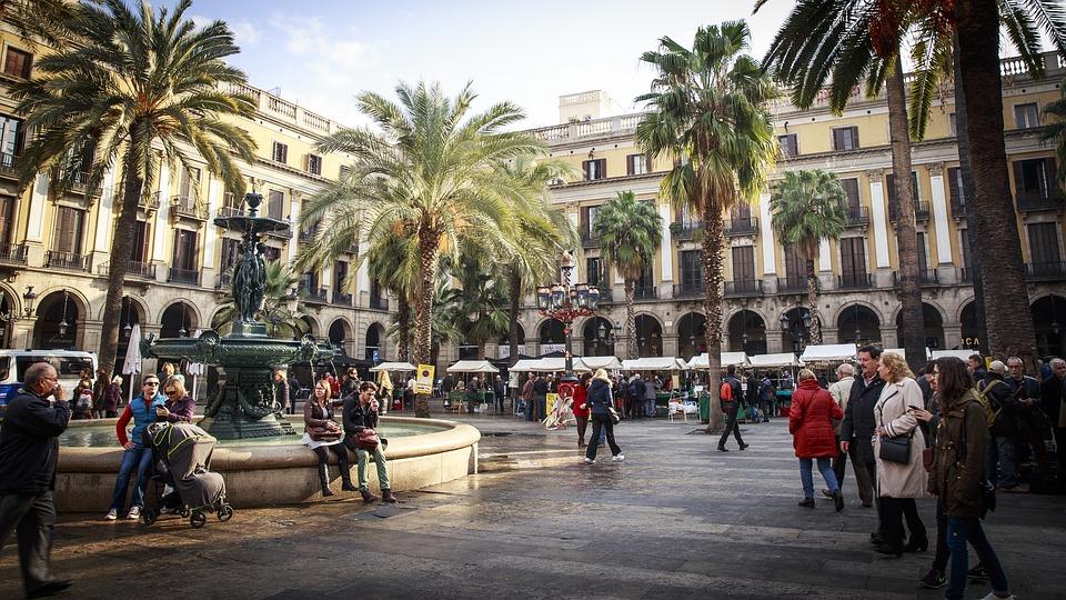 Tržnica v Barceloni